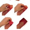 Boite papier origami