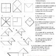 Cocotte en origami
