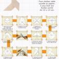 Cocotte en papier origami