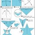 Easy origami star