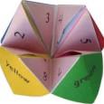 Fortune teller origami