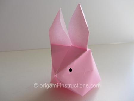 Оригами из бумаги надувное