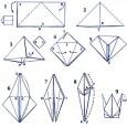 Make origami crane