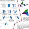 Modular origami instructions