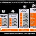 Offre origami orange