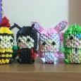 Origami 3d animals