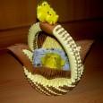 Origami 3d basket