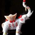 Origami 3d elephant