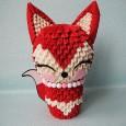 Origami 3d fox
