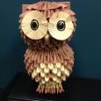 Origami 3d owl