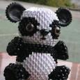 Origami 3d panda