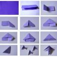 Origami 3d pieces