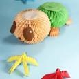 Origami 3d turtle