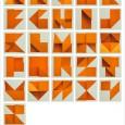Origami alphabet 3d