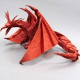 Origami ancient dragon