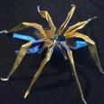 Origami araignée