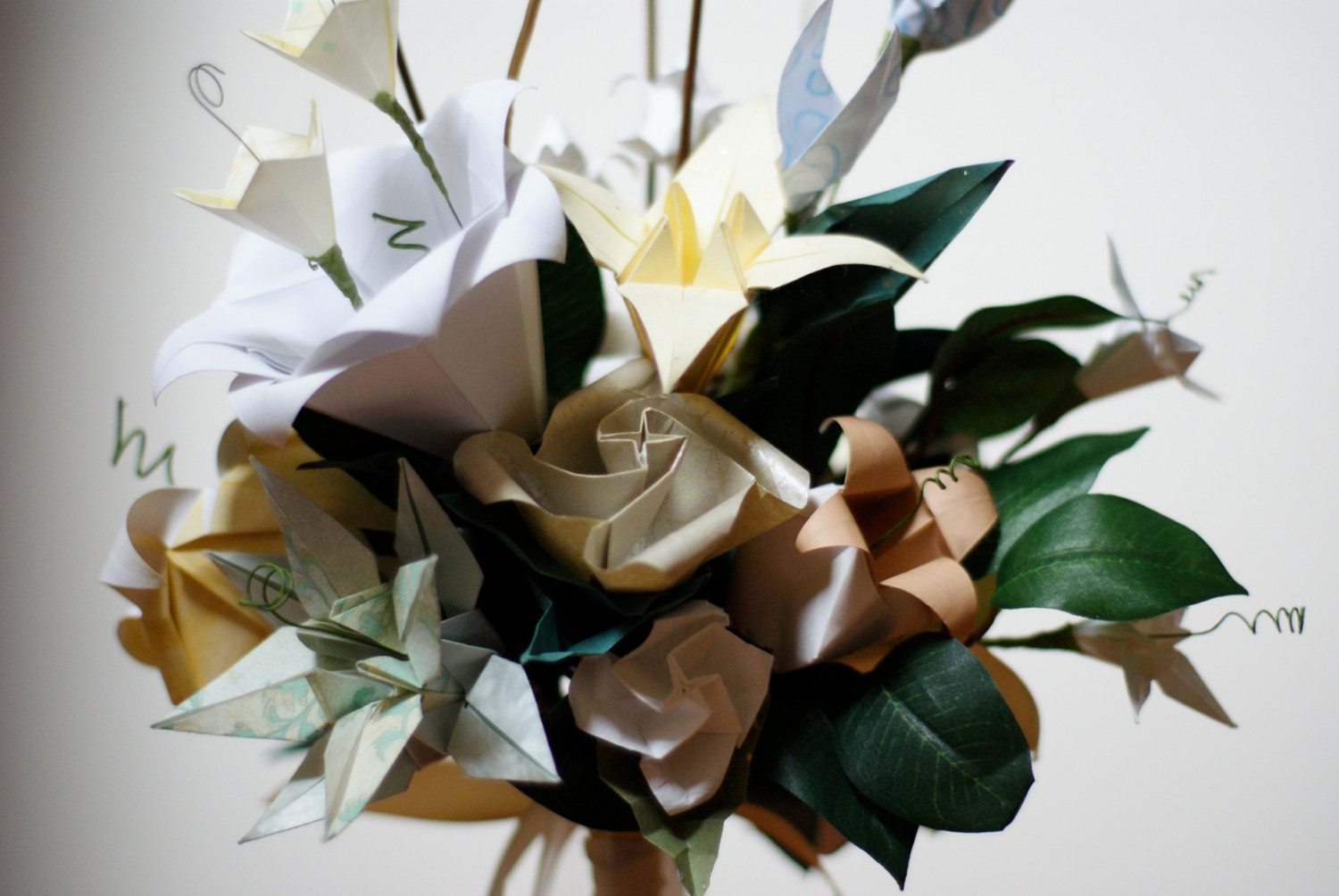 Vintage Wedding Bouquets and Accessories by bouquets4love