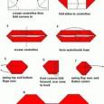 Origami bow tie