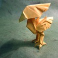 Origami chocobo