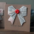 Origami christmas cards