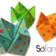 Origami cocotte en papier