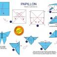 Origami facile papillon