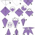 Origami fleurs facile