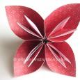 Origami flowers easy