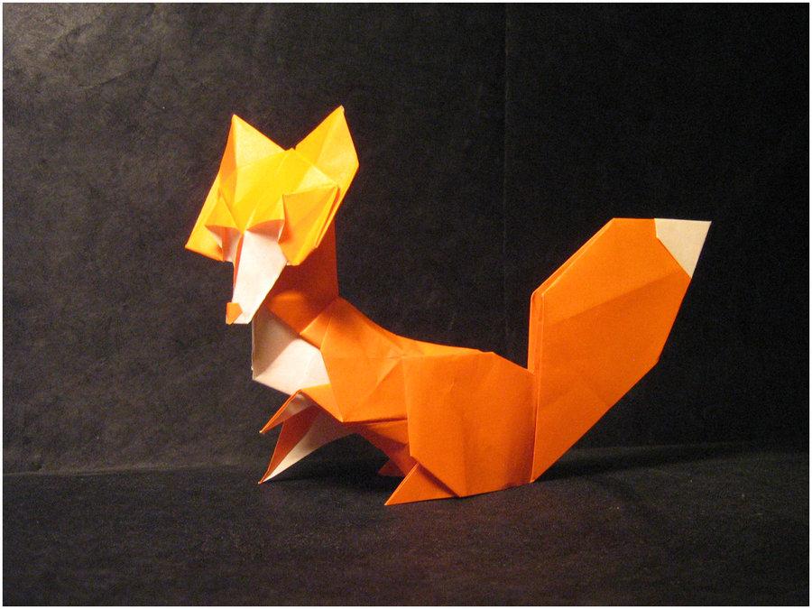 Поделка из бумаги объемная оригами