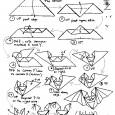 Origami halloween facile