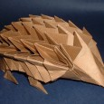 Origami hedgehog