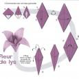 Origami lys