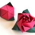 Origami magic cube
