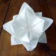 Origami pliage de serviette