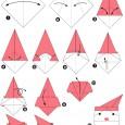 Origami pour noel