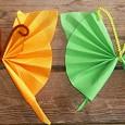 Origami serviette papier