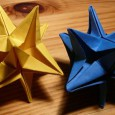 Origami star 3d