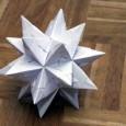 Origami stars 3d