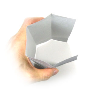 origami tube