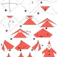 Origamie de noel