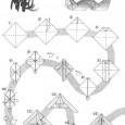 Origamie dragon