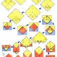 Origamie enveloppe