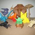 Papier origami lyon