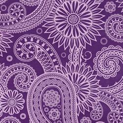 purple origami paper