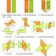 Shuriken origami
