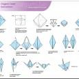 Simple origami crane