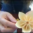 Youtube origami fleur
