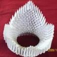 3d origami crown