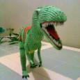 3d origami dinosaur