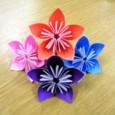 3d origami easy flower